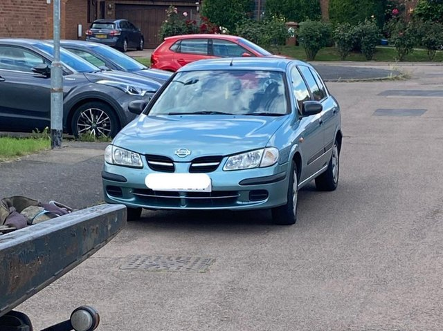 This car was seized as the provisional driver was using it unsupervised in Earls Barton.