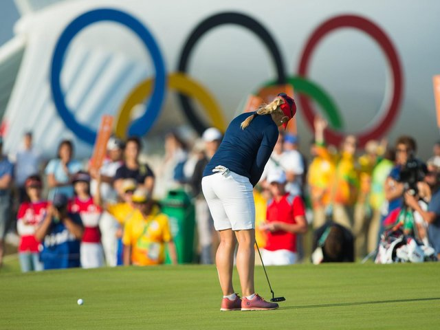 Charley Hull competed at the Olympics in Rio in 2016 but won't be heading to Tokyo this summer. Picture by Tristan Jones