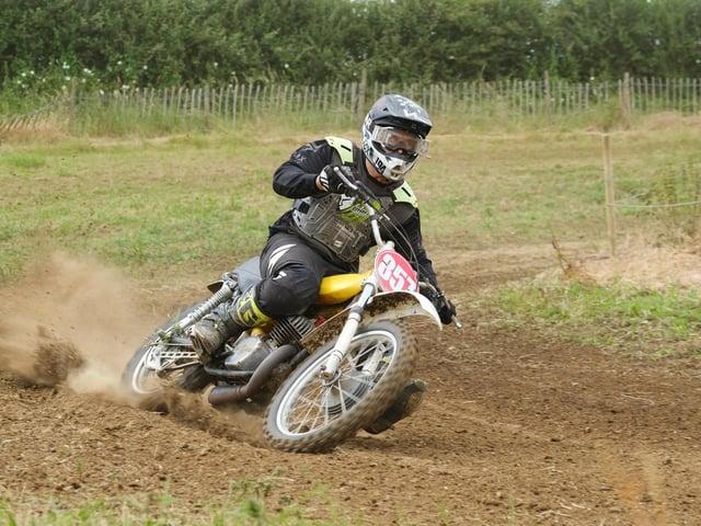 Corby welder Ashley Wilson (1973 380 CZ) back to winning ways after a two-year break from moto cross.