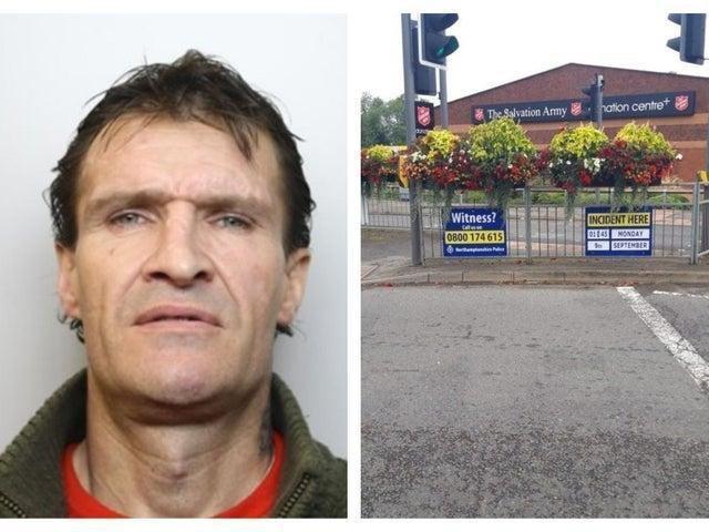 Ross Eaton and the fatal crash scene. Credit: Northants Police/Northants Telegraph.