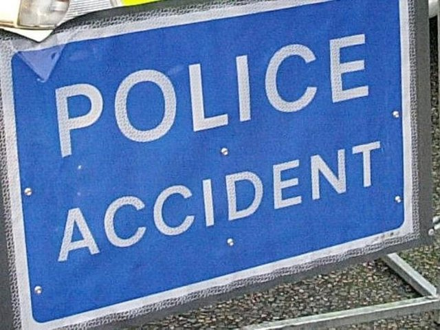 Police were called to the crash.