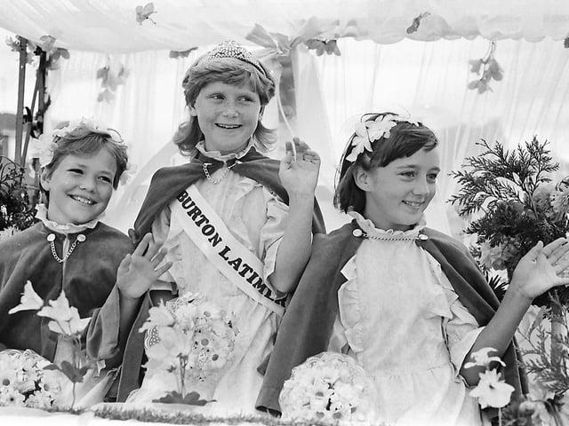 Burton Latimer carnival, 1983