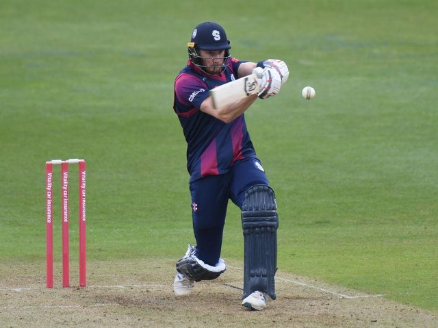 Rob Keogh hit 56 in the Steelbacks' 142 for eight against Lancashire