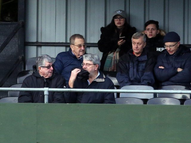 Max Griggs remained a regular visitor to Hayden Road for AFC Rushden & Diamonds home matches. Picture by Alison Bagley