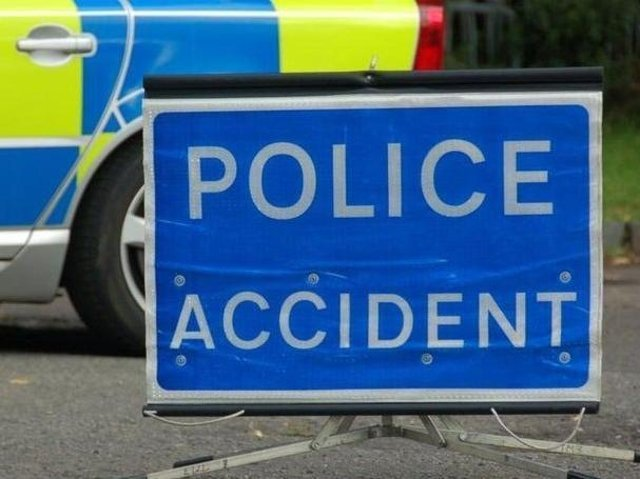 The A45 is partially blocked by a smash on Thursday morning