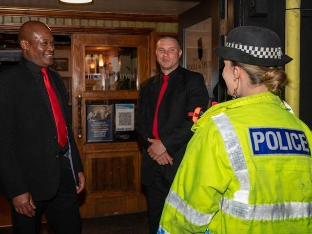 More police will be on duty in town centres as nightspots open their doors again