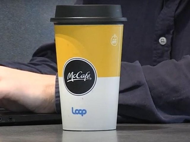 McDonald's has partnered with Loop for a global trial in Wellingborough and Northampton