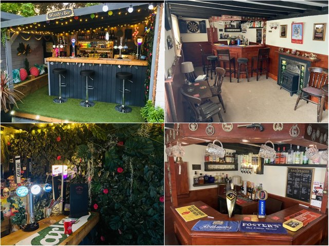 Take a look around the two runners up in the Britain's Best Home Bar competition!