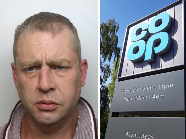 Prescott admitted 25 thefts and five assaults on staff at a Northampton Co-op