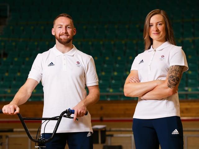 Declan Brooks and Charlotte Worthington. Image: Getty