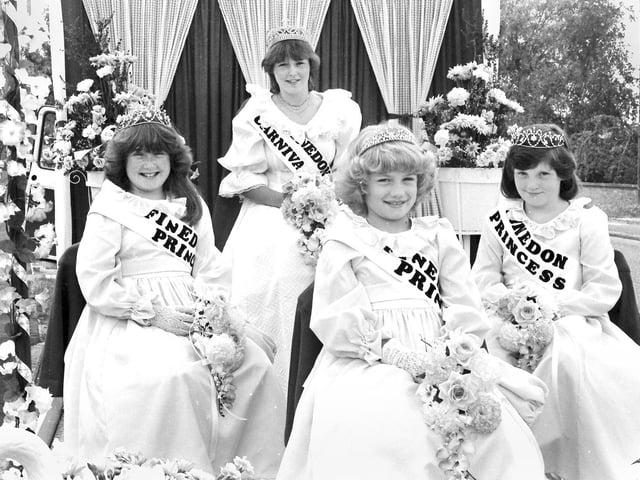 Finedon carnival, 1983