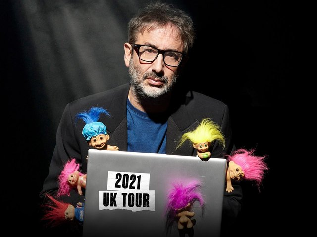David Baddiel: 'I'm a big fan of the power of comedy, and the power of comedy to displace and defuse and to make people not be so angry'