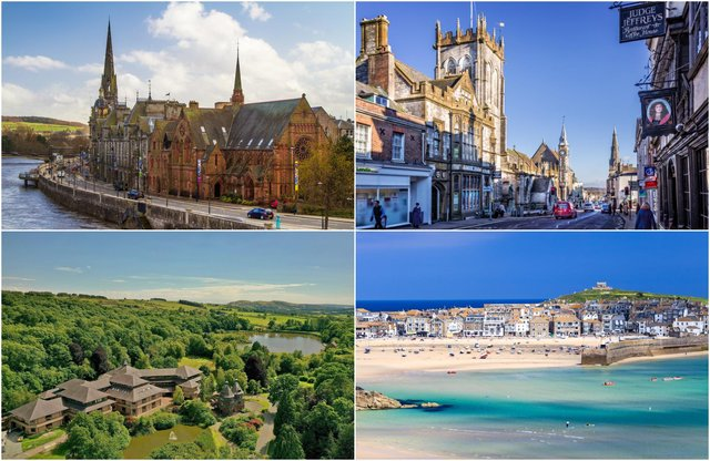These 20 locations were rated the happiest in Britain by residents.