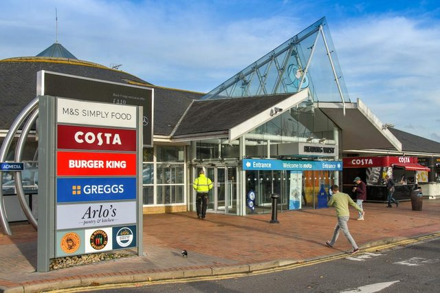 The UK's best and worst services stations