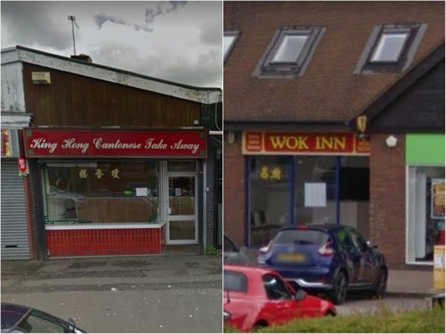 King Hong, in Corby, and The Wok Inn, in Kettering, were nominated many times by Telegraph readers.